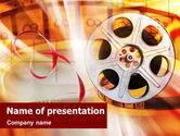 Art & Entertainment: Modelo do PowerPoint - filmes #01495