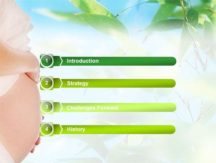 Pregnancy PowerPoint Template, Slide 3, 01497, Medical — PoweredTemplate.com