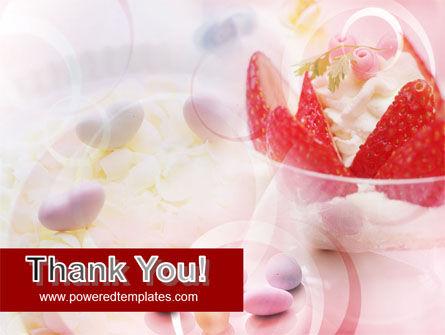 Ice Cream & Strawberries PowerPoint Template Slide 20