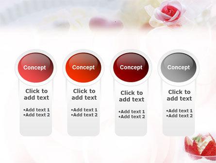 Ice Cream & Strawberries PowerPoint Template Slide 5