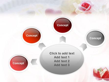 Ice Cream & Strawberries PowerPoint Template Slide 7