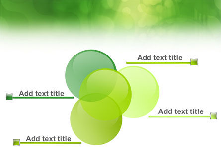 Green Abstract PowerPoint Template Slide 10