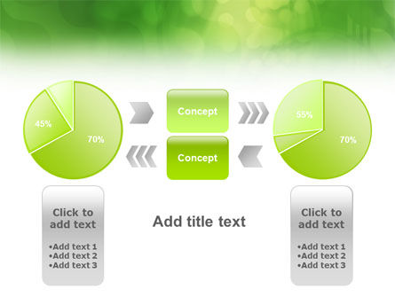 Green Abstract PowerPoint Template Slide 11