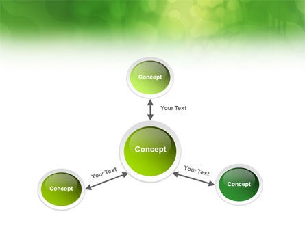 Green Abstract PowerPoint Template Slide 14