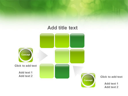 Green Abstract PowerPoint Template Slide 16