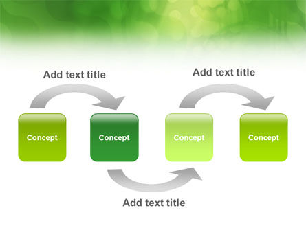 Green Abstract PowerPoint Template Slide 4