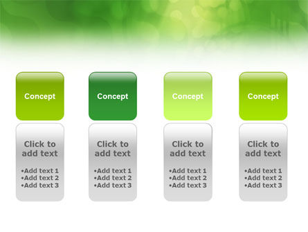 Green Abstract PowerPoint Template Slide 5