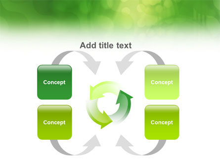 Green Abstract PowerPoint Template Slide 6