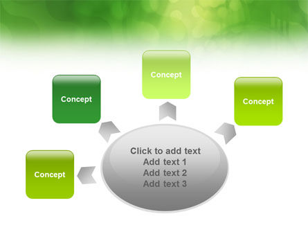 Green Abstract PowerPoint Template Slide 7