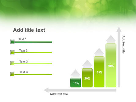 Green Abstract PowerPoint Template Slide 8