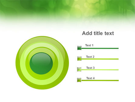 Green Abstract PowerPoint Template Slide 9