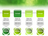 Green Abstract PowerPoint Template#18