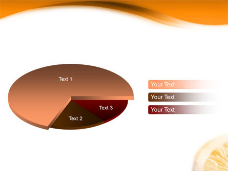 Halves of Orange PowerPoint Template Slide 14
