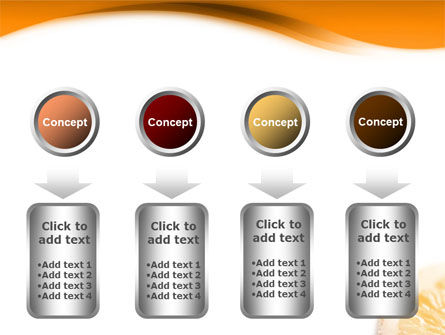 Halves of Orange PowerPoint Template Slide 18