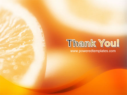 Halves of Orange PowerPoint Template Slide 20