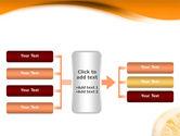 Halves of Orange PowerPoint Template#16