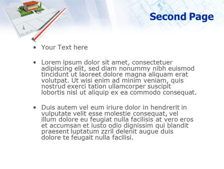Cottage Model PowerPoint Template Slide 2