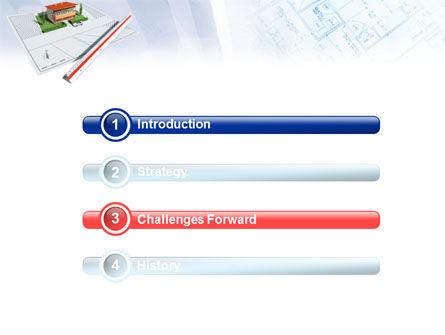 Cottage Model PowerPoint Template, Slide 3, 01508, Construction — PoweredTemplate.com