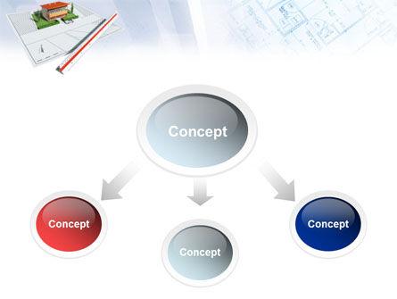 Cottage Model PowerPoint Template, Slide 4, 01508, Construction — PoweredTemplate.com