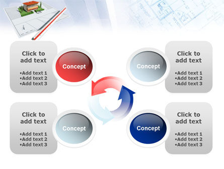 Cottage Model PowerPoint Template Slide 9