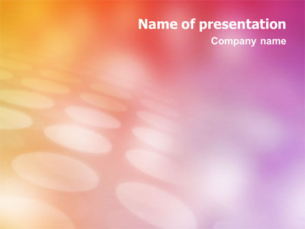 Disco Theme PowerPoint Template, 01509, Abstract/Textures — PoweredTemplate.com
