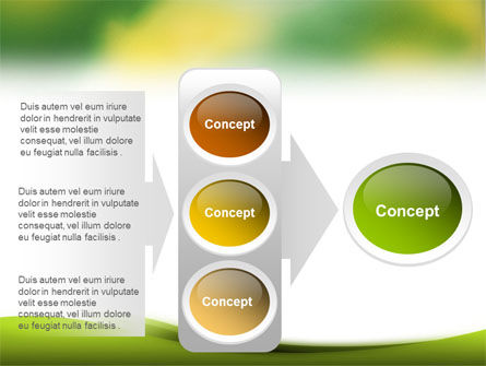 Yellow Spots PowerPoint Template Slide 11