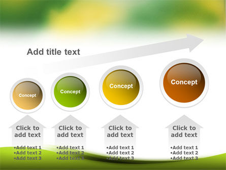 Yellow Spots PowerPoint Template Slide 13
