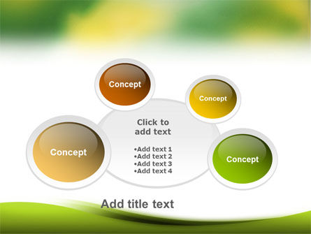 Yellow Spots PowerPoint Template Slide 16
