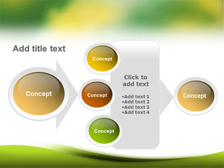 Yellow Spots PowerPoint Template Slide 17