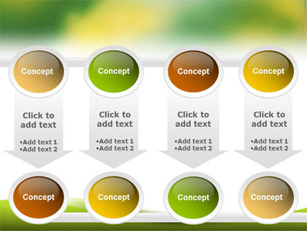 Yellow Spots PowerPoint Template Slide 18