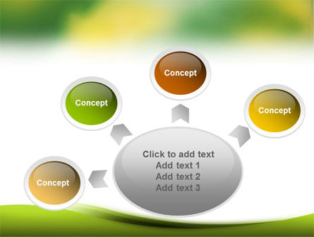 Yellow Spots PowerPoint Template Slide 7