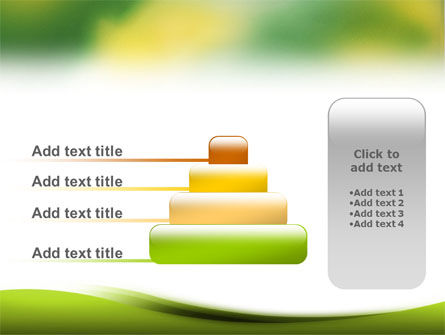 Yellow Spots PowerPoint Template Slide 8