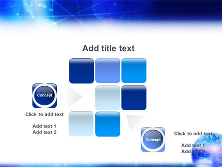 Blue Earth Abstract PowerPoint Template Slide 16