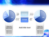 Blue Earth Abstract PowerPoint Template#11