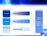 Blue Earth Abstract PowerPoint Template#12