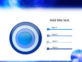 Blue Earth Abstract PowerPoint Template#9