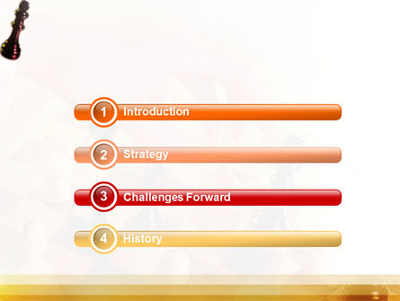 Strategic Move PowerPoint Template, Slide 3, 01513, Sports — PoweredTemplate.com