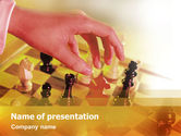 Sports: Strategic Move PowerPoint Template #01513