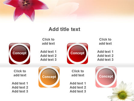 Oxy Daisy On A Pink Background PowerPoint Template Slide 19