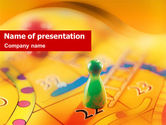 Business Concepts: Table Game PowerPoint Template #01515