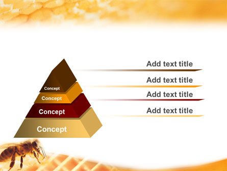 Wafers and Honey PowerPoint Template Slide 10