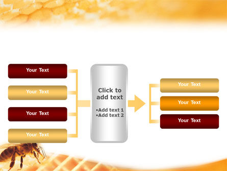 Wafers and Honey PowerPoint Template Slide 16