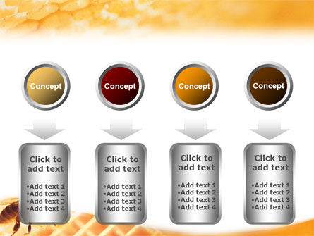 Wafers and Honey PowerPoint Template Slide 18
