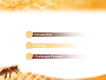Wafers and Honey PowerPoint Template Slide 3