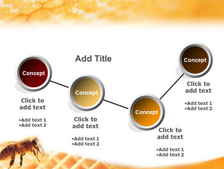 Wafers and Honey PowerPoint Template Slide 6