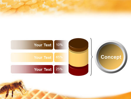 Wafers and Honey PowerPoint Template Slide 8