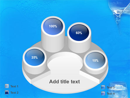 Glass Of Water And Ice PowerPoint Template Slide 12