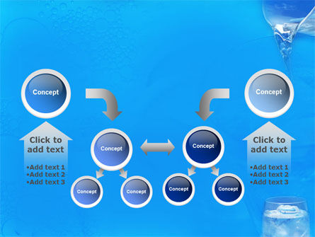 Glass Of Water And Ice PowerPoint Template Slide 19