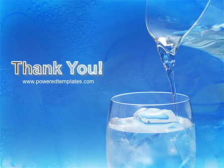 Glass Of Water And Ice PowerPoint Template Slide 20