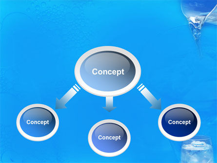 Glass Of Water And Ice PowerPoint Template Slide 4